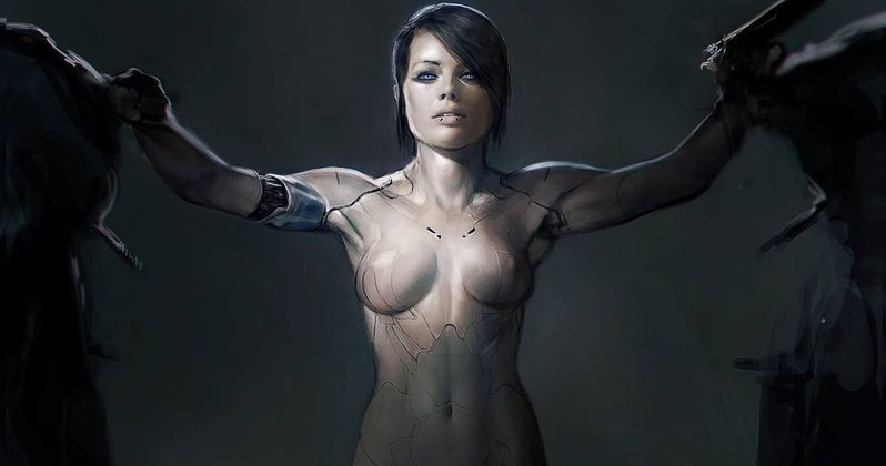 Ghost in the Shell Concept Art Shows Margot Robbie as Major