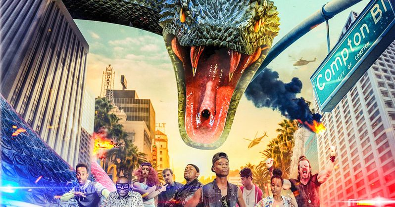 New Snake Outta Compton Trailer Unleashes a Hip-Hop Munching Menace