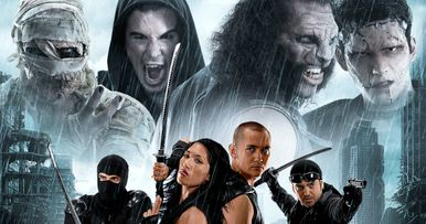 Ninjas Vs Monsters Trailer: Dracula, Frankenstein, Witches!