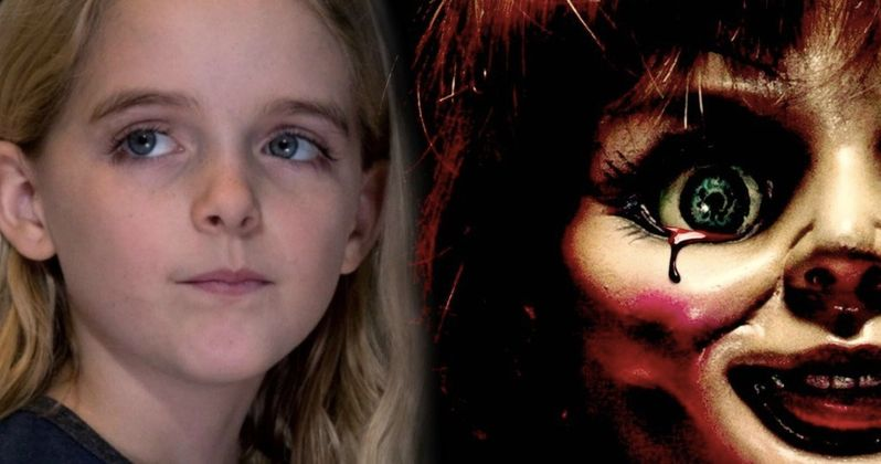Annabelle 3 Lands Captain Marvel Star McKenna Grace