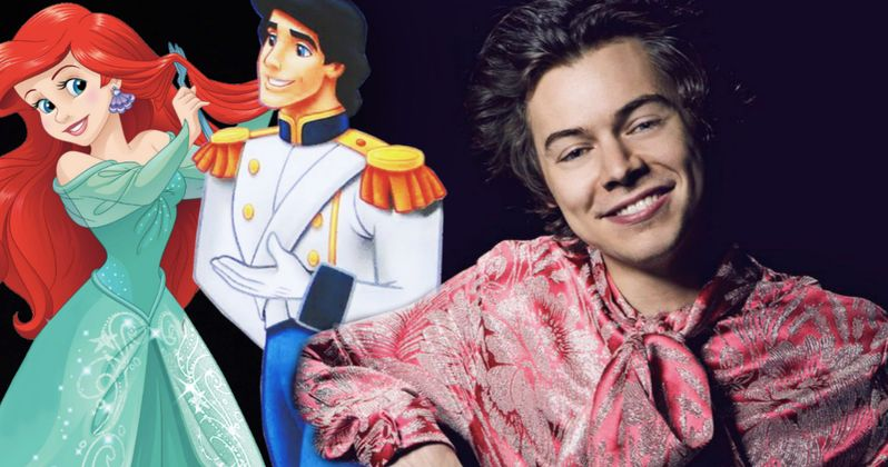 Harry Styles Says No to Prince Eric Role in Disney's Little Mermaid Remake