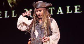 D23: Watch Johnny Depp Surprise Fans as Jack Sparrow for Pirates 5