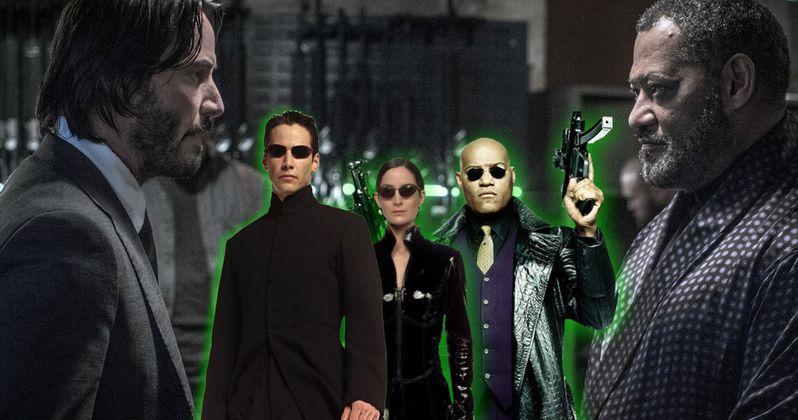 The Matrix Cast Reunite in John Wick 2 Premiere Photos