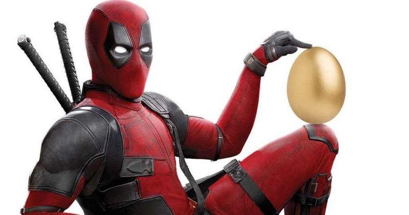 Deadpool 2 Easter Poster Lays a Giant Golden Egg