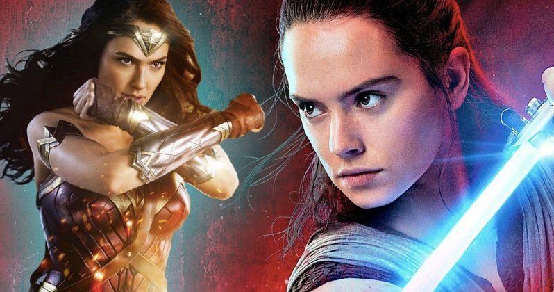 Last Jedi Overtakes Wonder Woman as 2nd Biggest Movie of 2017