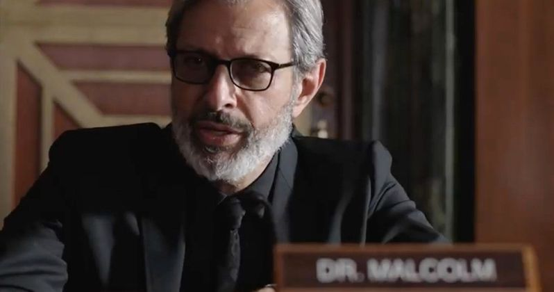 Jeff Goldblum Offers Peek Into Dr. Malcolm's Mind in Jurassic World 2