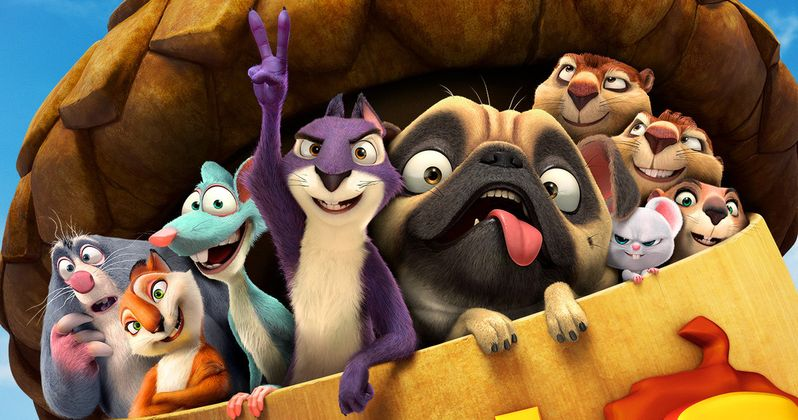 Nut Job 2 Trailer Reunites Surly and the Gang