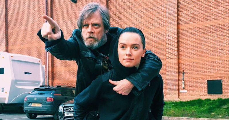 Mark Hamill & Daisy Ridley Wrap on Star Wars 8