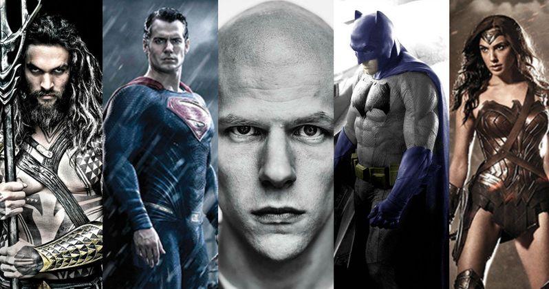 Batman v Superman Character Portraits So Far