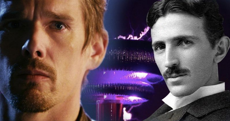 Ethan Hawke Is Nikola Tesla in New Biopic