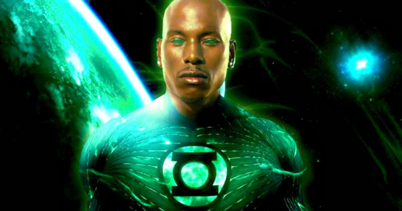 Green Lantern Corps. Hesitant to Pull Trigger on Tyrese