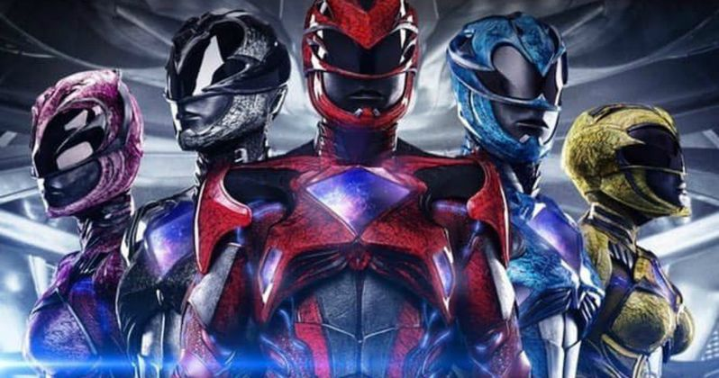 Power Rangers Poster Unites a Team of Teenage Heroes
