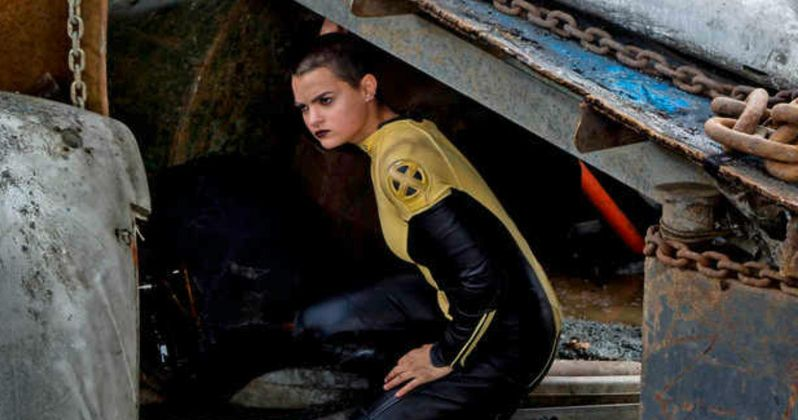 Negasonic Teenage Warhead Plays Hide & Seek in New Deadpool Photos