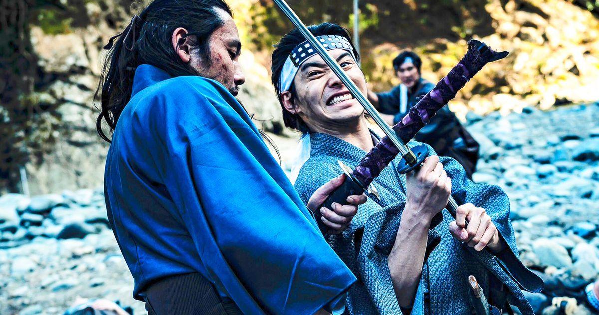 В «Безумном самурае» есть эпическая 77-минутная сцена боевых искусств из одного дубля