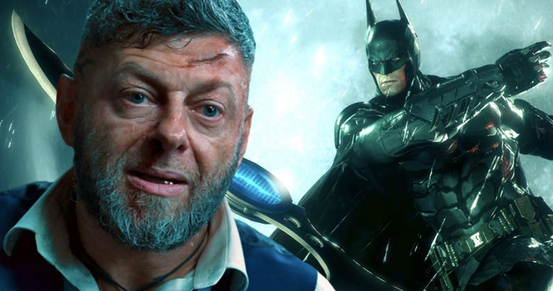 Did The Batman Land Andy Serkis, If So Who's He Playing?