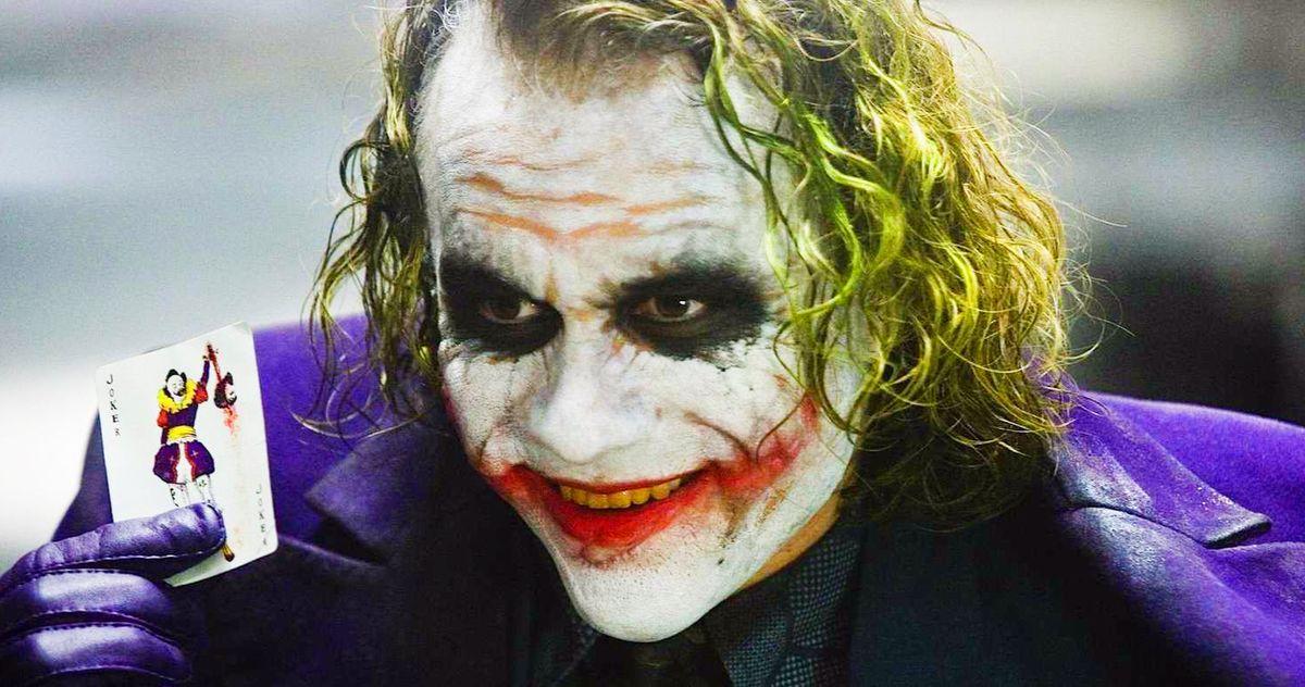 The Dark Knight Joker Origin Heath Ledger