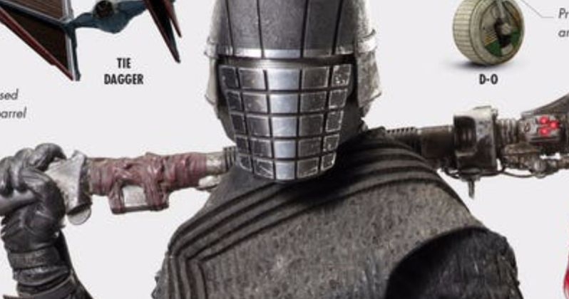 Deadly Knights of Ren Weapon Revealed in Rise of Skywalker Visual Dictionary