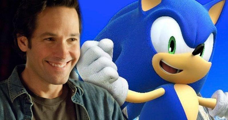 Sonic the Hedgehog Movie Wants Paul Rudd as Sonic's Cop Buddy