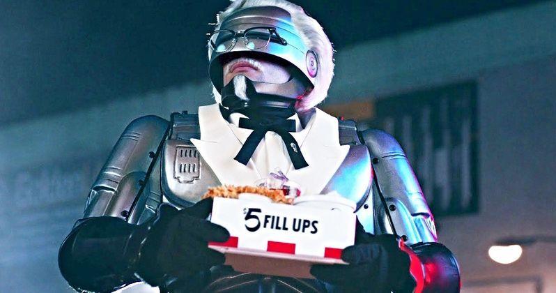 RoboCop Is KFC's New Colonel Sanders and It's Not a Joke