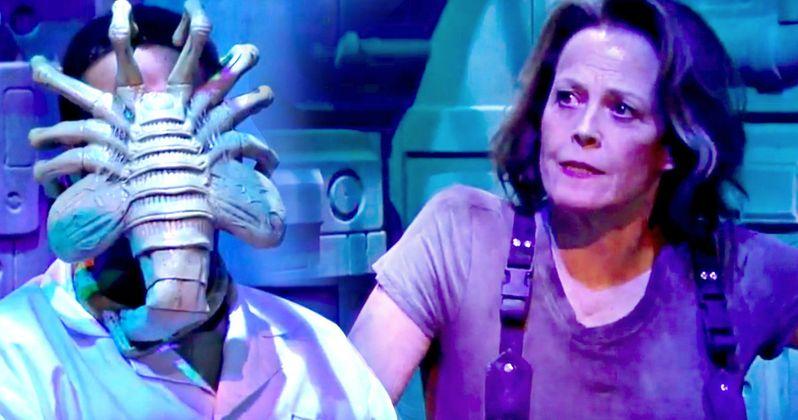 Sigourney Weaver Returns as Ripley in Alien Spoof Video