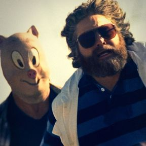 The Hangover Part III Poster with Zach Galifianankis