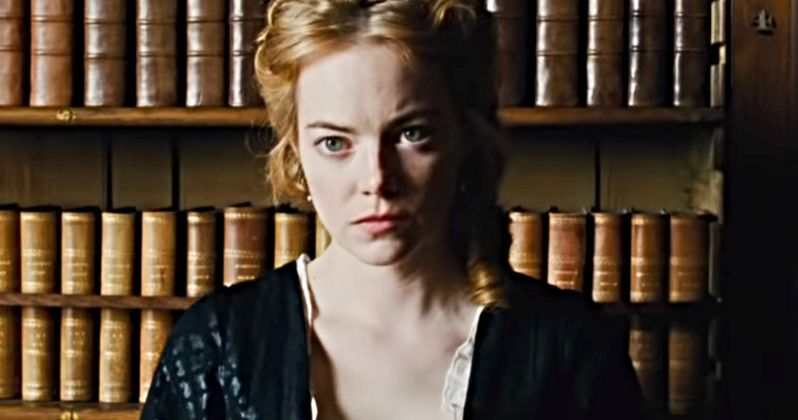 Emma Stone Gets Gross About Her Shifting Organs During The Favourite Shoot