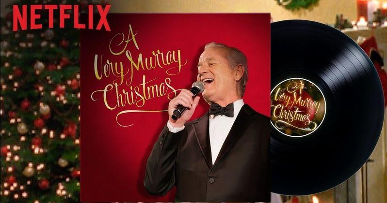 Murray Christmas.George Clooney Sings In A Very Murray Christmas Trailer