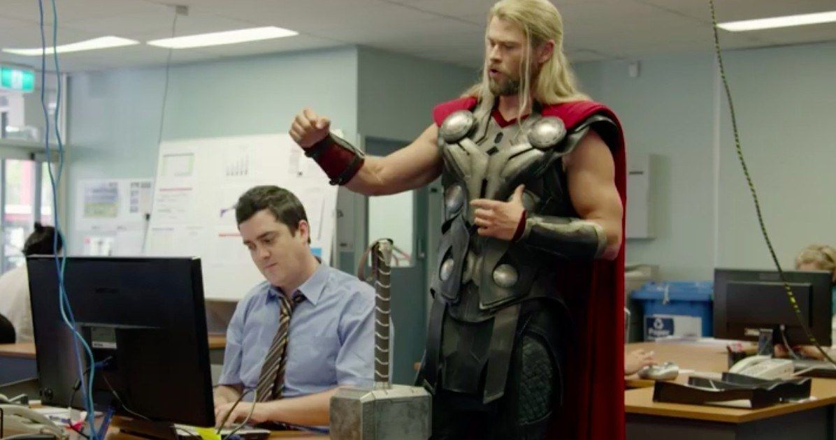 Thor's Roommate Daryl Could Have a Cameo in Thor 3