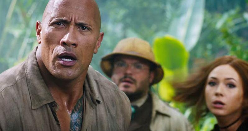 New Jumanji 2 Footage Has Wild Animals Attacking The Rock