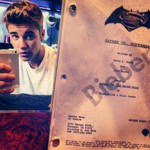 Justin Bieber Is Robin in Batman Vs. Superman?