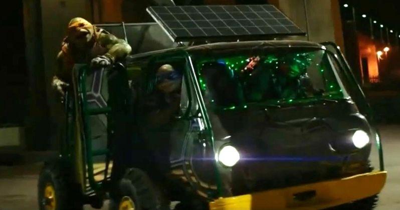 Second Teenage Mutant Ninja Turtles Clip Shows Off the Turtle Van