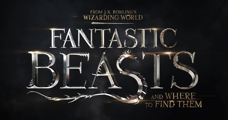 Fantastic Beasts and Where to Find Them Logo Unveiled