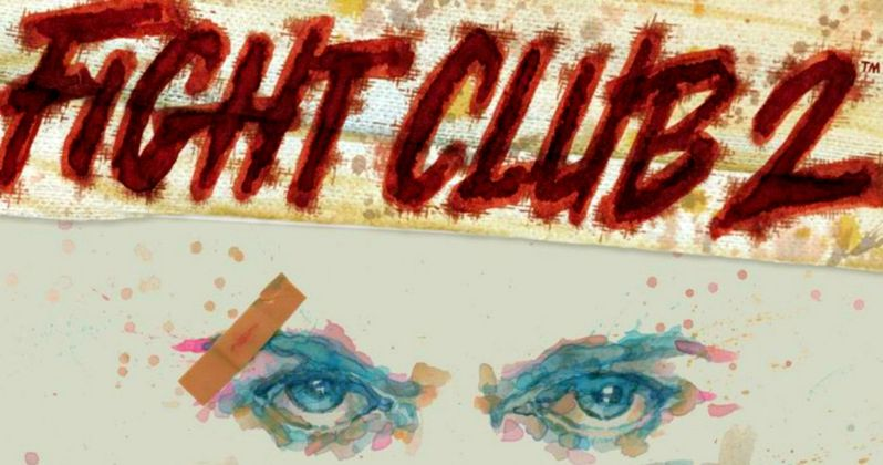 First Look at Fight Club 2 Comic Book and Board Game
