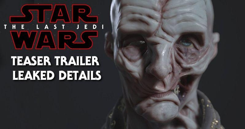 Star Wars 8 Teaser Trailer Description Leaks?