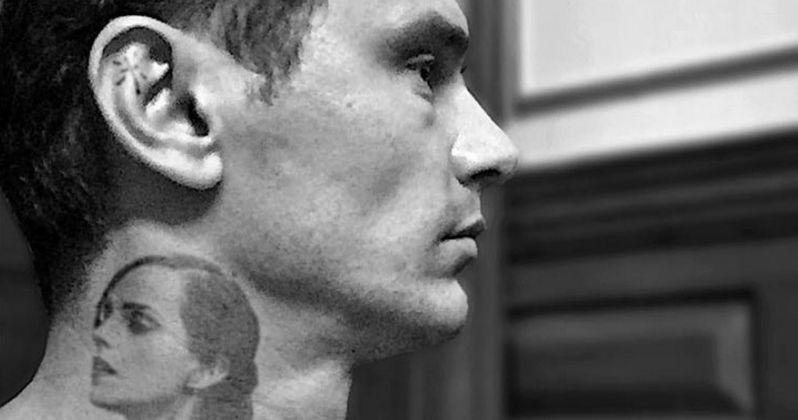 James Franco Shows Off Emma Watson Neck Tattoo