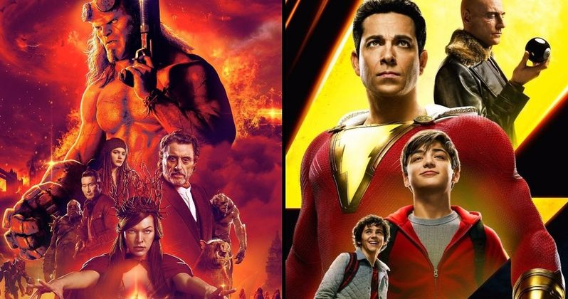 Shazam Wins 2nd Weekend with $25.1M as Hellboy Bombs at the Box Office