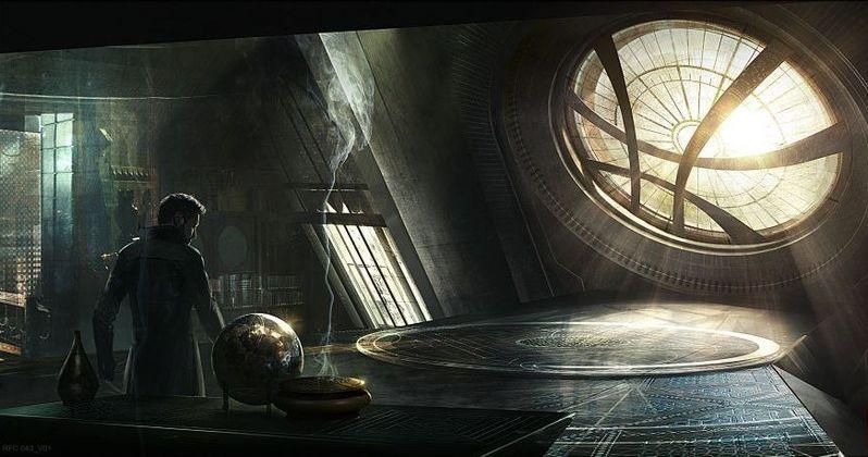 Doctor Strange Enters His Sanctum Sanctorum in New Concept Art