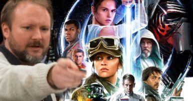 Rian Johnson's Star Wars Trilogy Canceled Rumors Roar Up Yet