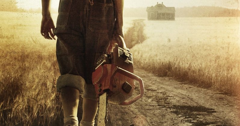 The Saw Comes Home in New Leatherface Poster