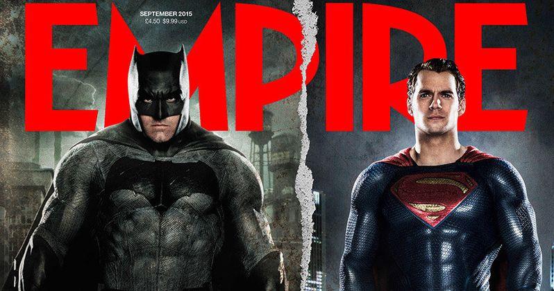 Batman v Superman Empire Cover Has New Look at Both Superheroes