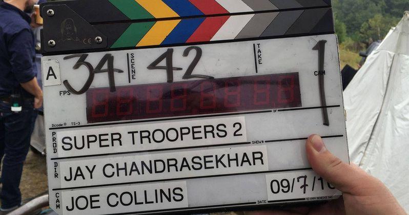Super Troopers 2 Begins Shooting with Entire Broken Lizard Team