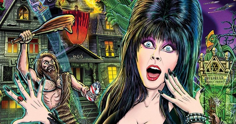 Elvria's House of Horrors Pinball Machines Officially Announced by Stern