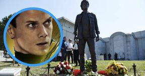 Star Trek Actor Anton Yelchin Gets Memorial Statue in Hollywood