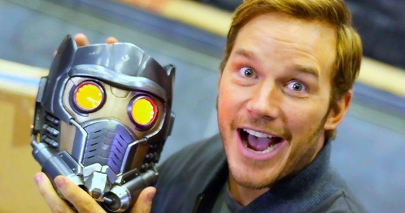 Guardians of the Galaxy 2 Sneak Peek Goes On Set with Chris Pratt