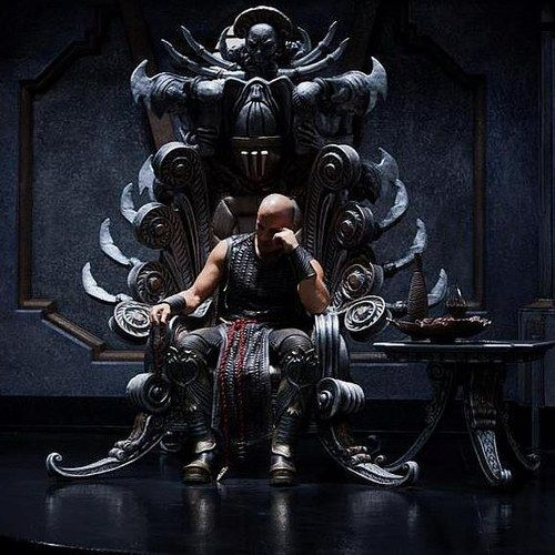 Vin Diesel Takes the Throne in Latest Riddick Photos