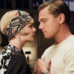 The Great Gatsby Photo with Leonardo DiCaprio and Carey Mulligan