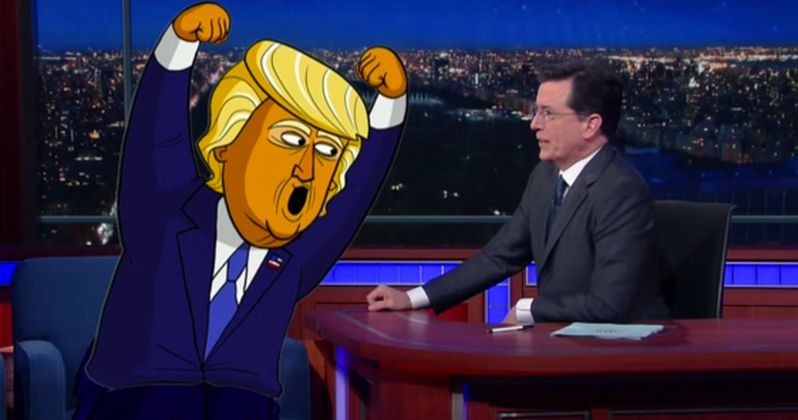 Stephen Colbert Plans Trump White House Animated Series for Showtime