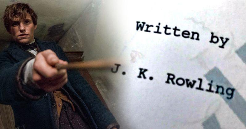 J.K. Rowling Teases Fantastic Beasts 2 Script