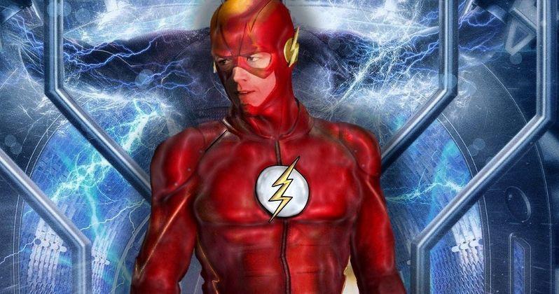 New Flash Costume Revealed in Season 4 Set Photos