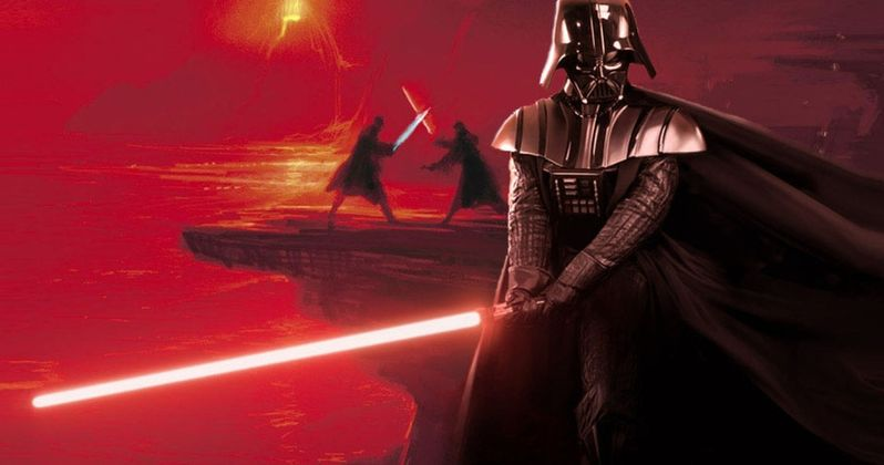 Expo Stands Lightsaber : Star wars comic reveals how sith lightsabers are made